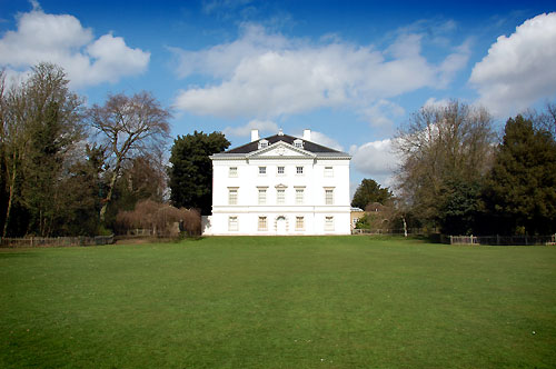 Marble Hill House in Marble Hill Park