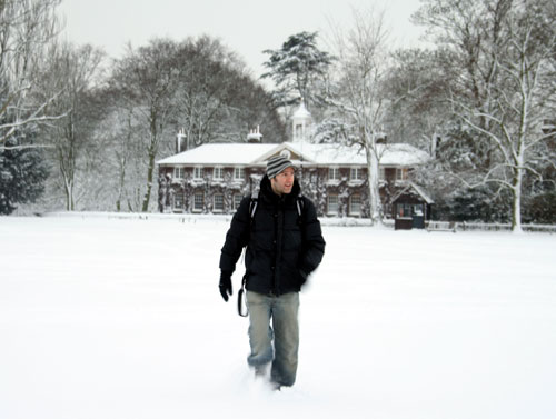 Steve Morgan in Marble Hill park